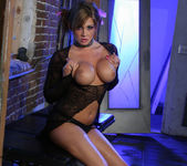 Tory Lane gets oiled up an horny 22