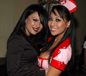 Eva Angelina and her hot nurse friend 17