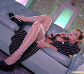 Tory Lane strips and gets nasty 13