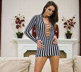 Tori Black gets naked and sexy 2