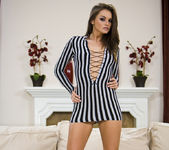 Tori Black gets naked and sexy 5