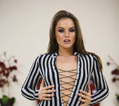 Tori Black gets naked and sexy 10