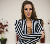 Tori Black gets naked and sexy 12
