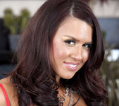 Eva Angelina gets down to the skin 20