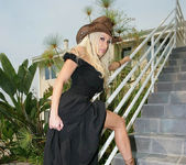 Cowgirl Gina Lynn Strips Down Naked 20