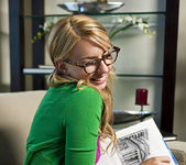 Lexi Belle Studying 13