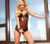 Alexis Texas - Latex Dress 8