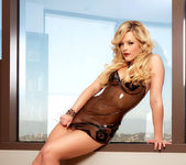 Alexis Texas - Latex Dress 13