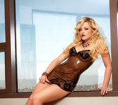 Alexis Texas - Latex Dress 14