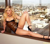 Alexis Texas - Latex Dress 24