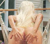 Gina Lynn Oils Up And Poses 13