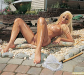 Gina Lynn Oils Up And Poses 26