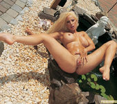 Gina Lynn Oils Up And Poses 28