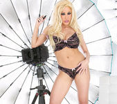 Blonde Babe Gina Lynn Strips Down 2
