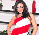Eva Angelina - My Striped Dress 2