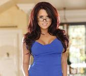 Eva Angelina - New Blue Dress 20