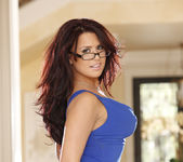 Eva Angelina - New Blue Dress 26