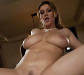 Alanah Rae & Sara Stone share a cock 7