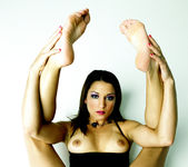 Ann Marie Rios - Goodbye Black Dress, Hello Pussy and Feet 26