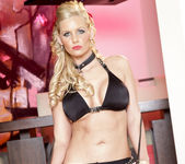 Phoenix Marie - My Sexiest Black Outfit with Pantyhose 18