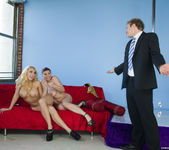 Threesome with Kagney Linn Karter & Sara Stone 10