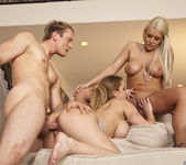 Threesome with Alanah Rae, Sadie Swede and Clark Kent 28