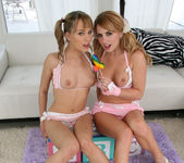 Lexi Belle and Blue Angel - 18 to 21 y/o Lesbian Scene 10