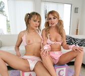Lexi Belle and Blue Angel - 18 to 21 y/o Lesbian Scene 16