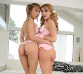 Lexi Belle and Blue Angel - 18 to 21 y/o Lesbian Scene 17