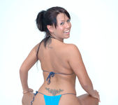 Eva Angelina Stripping, Masturbating, and Eating a Banana 23