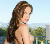 Pornstar Jenna Haze Stripping Outside and In Private 7