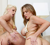 Pornstar Threesome with Alanah Rae & Sadie Swede 18