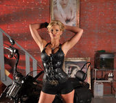 Phoenix Marie and a Motorcycle - You Want This 6