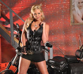 Phoenix Marie and a Motorcycle - You Want This 13