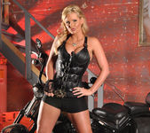Phoenix Marie and a Motorcycle - You Want This 14