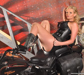 Phoenix Marie and a Motorcycle - You Want This 21