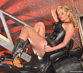 Phoenix Marie and a Motorcycle - You Want This 22