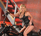 Phoenix Marie and a Motorcycle - You Want This 26