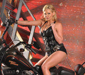 Phoenix Marie and a Motorcycle - You Want This 27