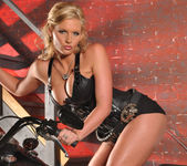 Phoenix Marie and a Motorcycle - You Want This 29