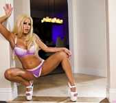Mature Pornstar Gina Lynn Stripping and Posing 18