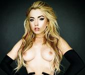 Pornstar Lexi Belle in a ''Black 'n Blonde'' Solo 13
