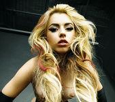 Pornstar Lexi Belle in a ''Black 'n Blonde'' Solo 24