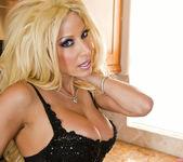 Mature Pornstar Gina Lynn Stripping Solo and Masturbating 10