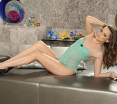 Bukkake Pornstar Tori Black in a Solo Photo Set 5