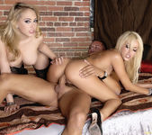 Pornstar Threesome with Breanne Benson & Kagney Linn Karter 23