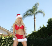 Gina Lynn is Santa's Helper for Bad Boys 7