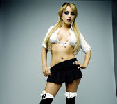 Lexi Belle is Sex, Rock 'n Roll in a Little Uniform 2