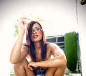 Outdoor Masturbation and a Cigarette for Eva Angelina 26