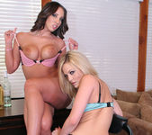Threesome with Alexis Texas and Kelly Divine 6